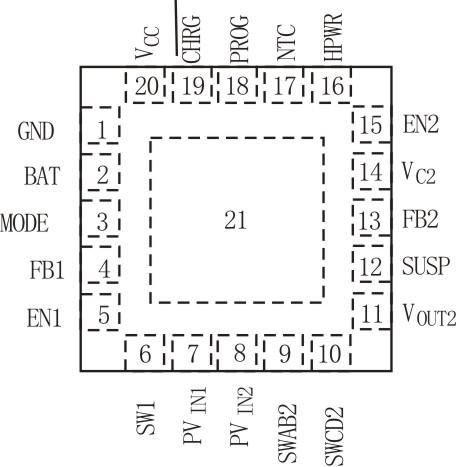 模式降压-升压(buck-boost)开关稳压器,其内部电路组成框图如图2所示