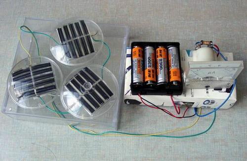 太阳能镍氢电池充电器