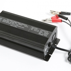 L500CM-24 锂电池智能充电器,电动车充电器,适用于7节 25.9V锂电池
