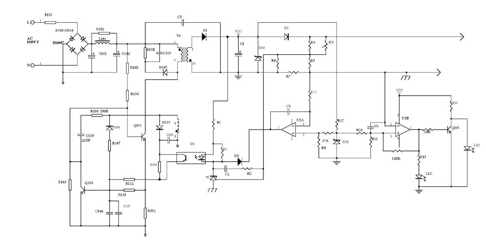 Battery Charger Circuit Using SCR - Electronics Hub