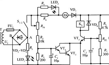 通用的电池充电器原理图