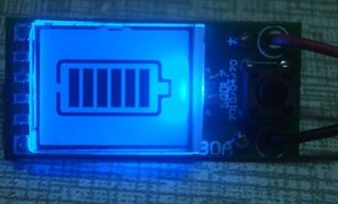 锂电池充电器LCD电量显示