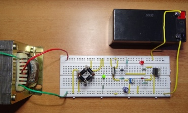 How To Make Automatic Charger