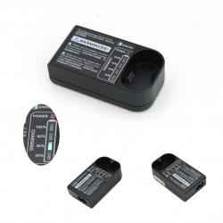 摄影闪光灯充电器V350带电量指示灯