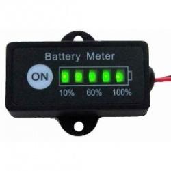 BG1-A12 12V Lead Acid Car Battery Meter Capacity Tester Gauge
